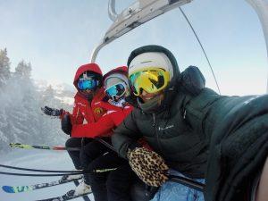 ski holiday fun