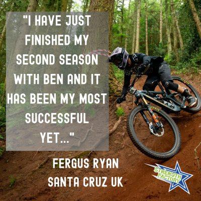 Fergus Ryan MTB Enduro Racer